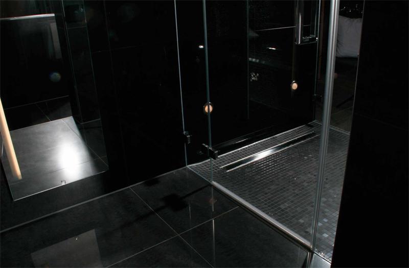 pro duschrinne in haarsieb geruchsstop boden ablauf rinne duschablaufrinne ebay. Black Bedroom Furniture Sets. Home Design Ideas