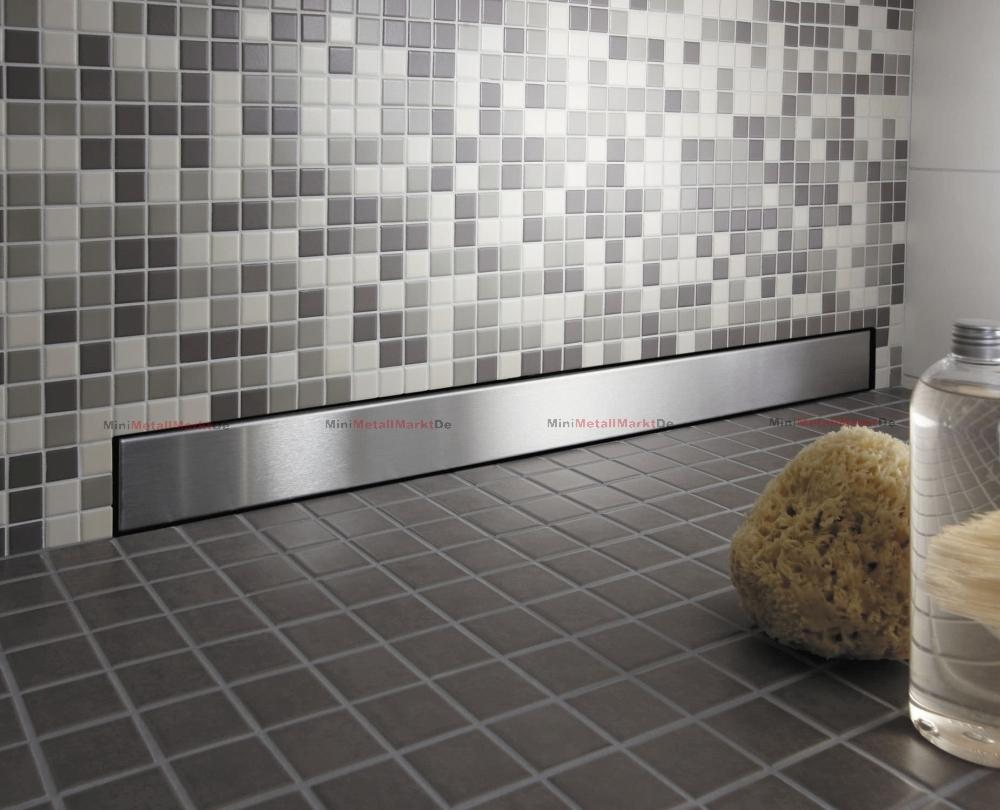 Duschablauf Wand slim line wandablauf flach wandrinne duschrinne ablaufrinne